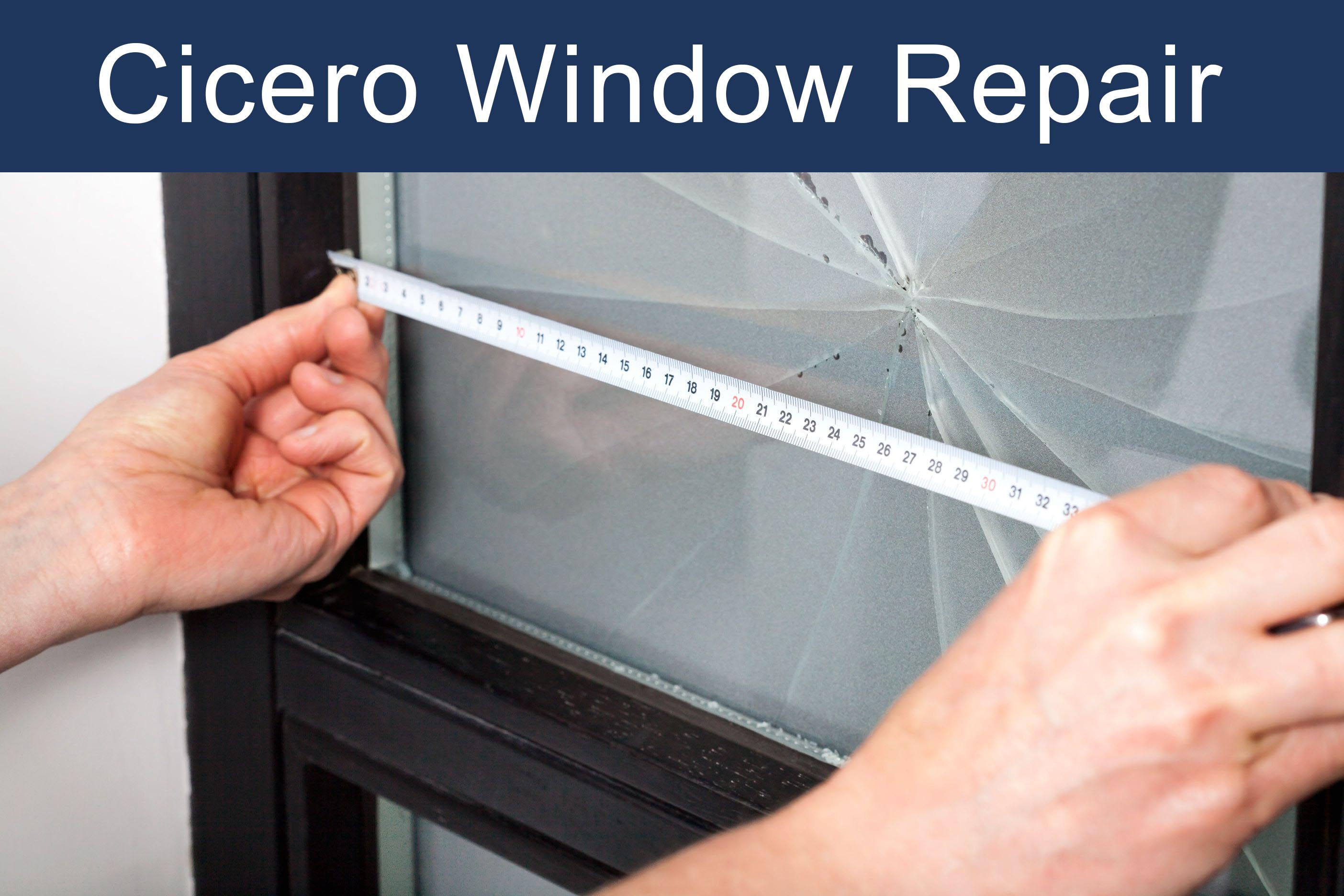 cicero window repair